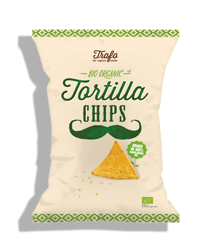 Tortilla chipsy Natural 75g Trafo