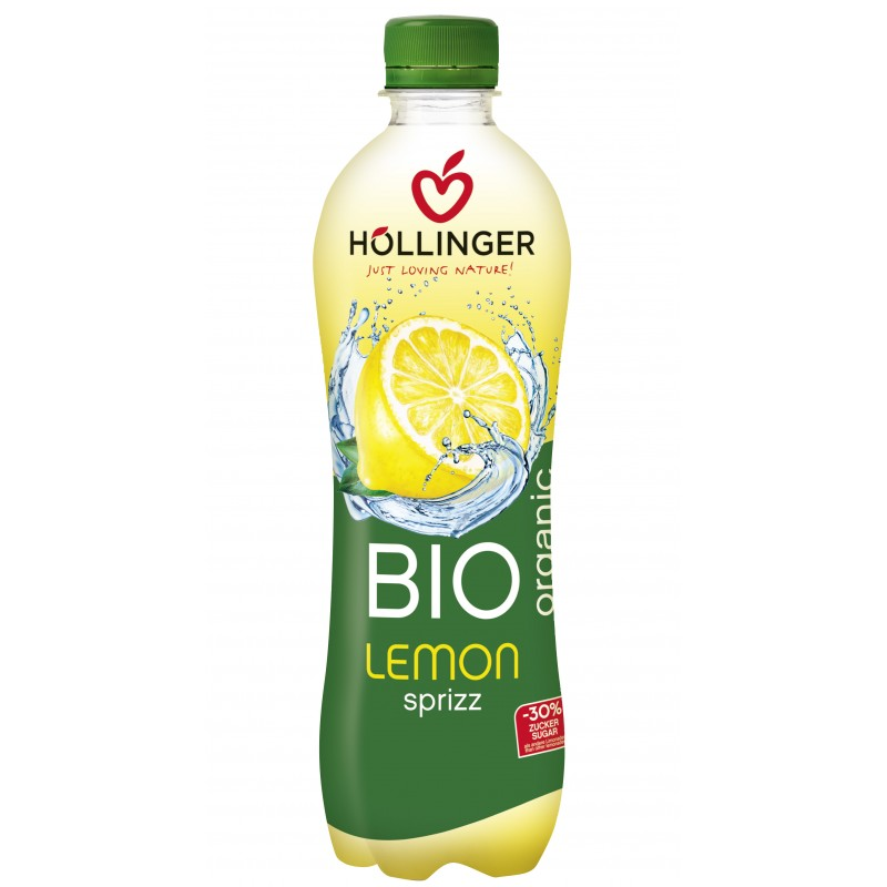 Limonáda citrón 500ml Hollinger, BIO