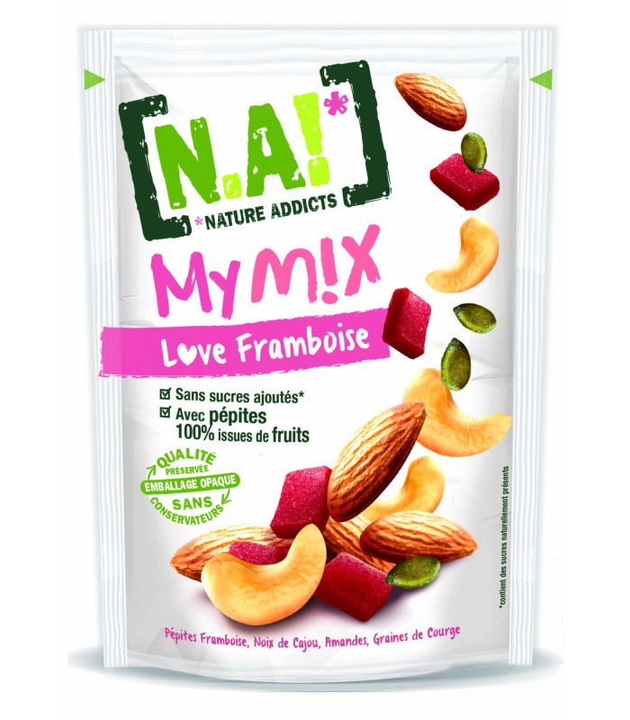 N.A! MY MIX LOVE maliny 40g