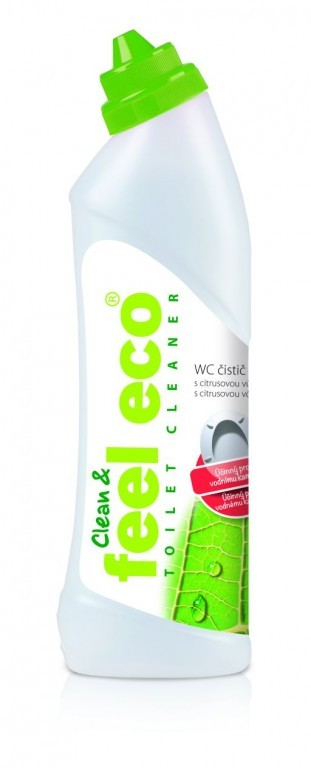 Čistič WC 750ml Feel Eco