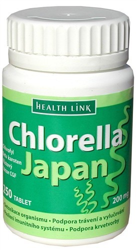 Chlorella Japan 200mg/250 tabliet