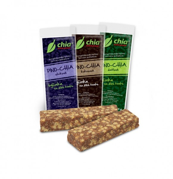Pino-chia slivková RAW 65g, Healthy Planet