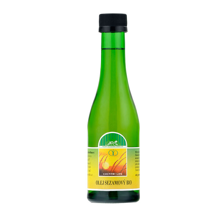 Sezamový olej 200ml, Country Life, BIO