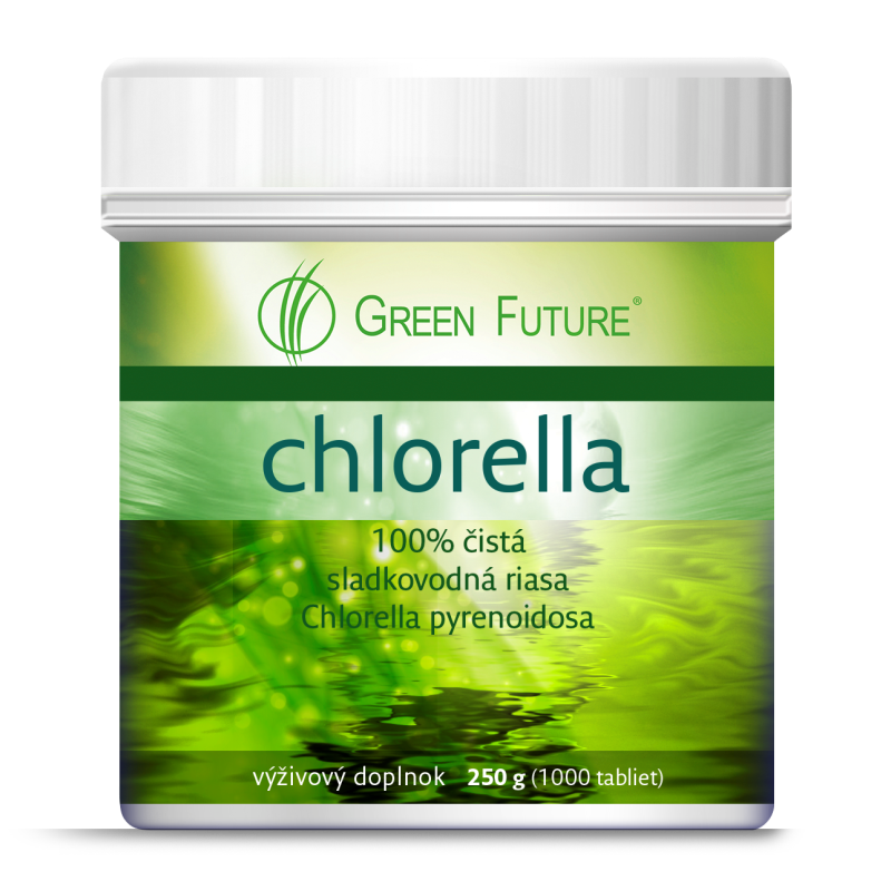 Chlorella Green Future 250g/1000 tabliet