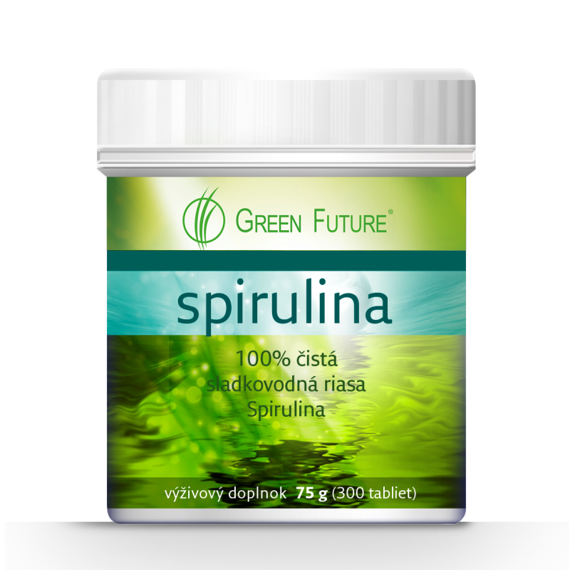 Spirulina Green Future 75g/300 tabliet