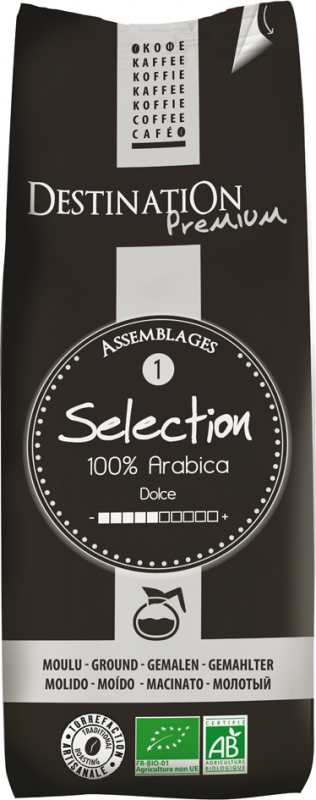 Káva mletá Selection 100% arabica 250g