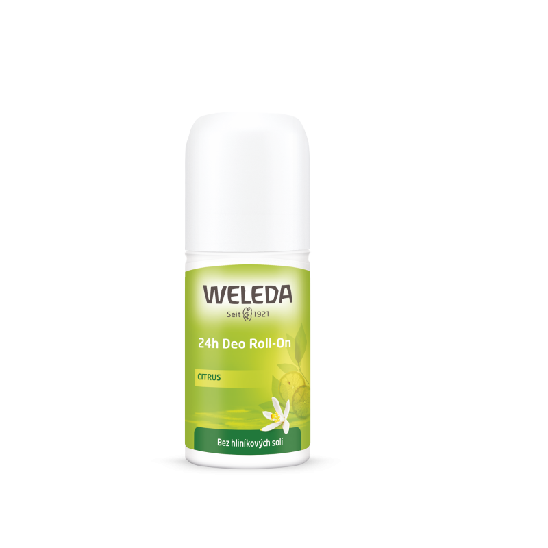 Deo Roll-On Citrus 24h 50ml Weleda