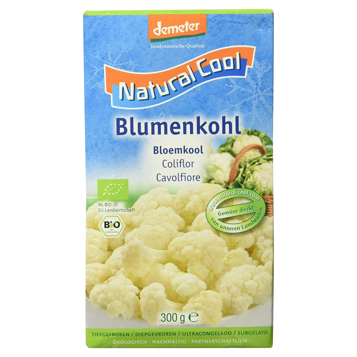 Karfiol mrazený 300g Natural Cool