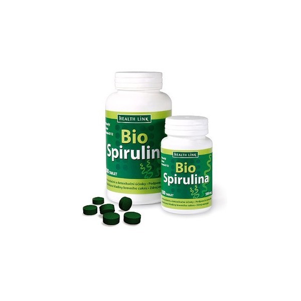 Spirulina 500mg/100 tabliet, BIO