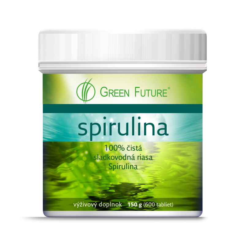 Spirulina Green Future 150g/600 tabliet